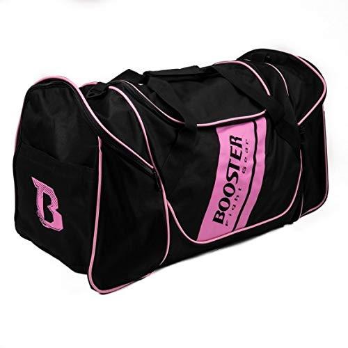 Booster Team Duffel Sporttas Nylon - Zwart - Roze