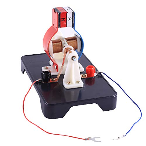 IS Icstation Electric Motor Kit DIY Motors Model DC 9V 12V Simple Assemble Kit for Teaching Learning STEM Project for Child Student Hobby Motor Magnet Science kit