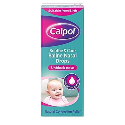 calpol saline nasal drops, 10ml Calpol Saline Nasal Drops, 10ml 41t2kS4U OL