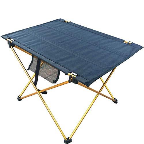 1yess Klapptisch im Freien Campingklapptisch wasserdicht Ultraleicht langlebiger Klapptisch Schreibtisch Picknick und Camping, Rot Kleiner 8bayfa (Color : Orange Small)