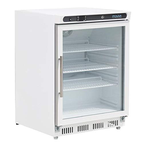 Polar Cd086 Porte en verre écran réfrigérateur, 150 l