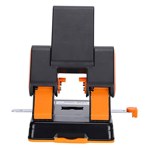 Hole Puncher, Anti‑Skid 2 Hole Punch, with Positioning Scale Office Supplies for Document Voucher