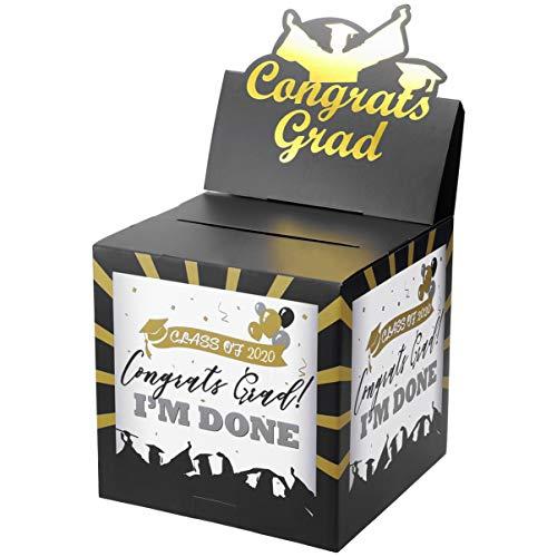 UNOMOR 2020 Porta Carte di Laurea Porta Carte Complimenti Porta Carte di Laurea Forniture per Feste di Laurea per La Classe Del 2020