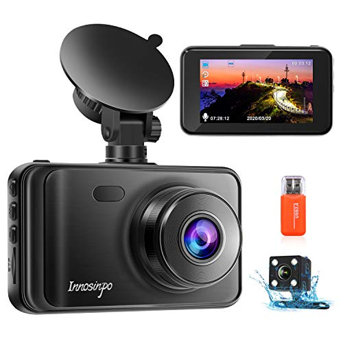 Upgraded Dash Cam Front and Rear Camera【2020 Newest Model】1080P FHD...