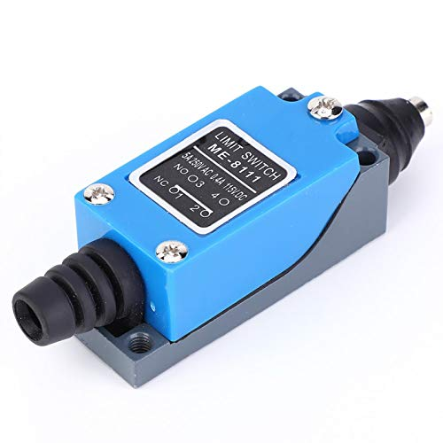 KUIDAMOS Palanca de Rodillo Ajustable 10 x 2.8 x 2.5cm 115VDC Interruptor...