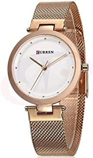 Curren Casual Watch For Women Analog Stainless Steel - h1147