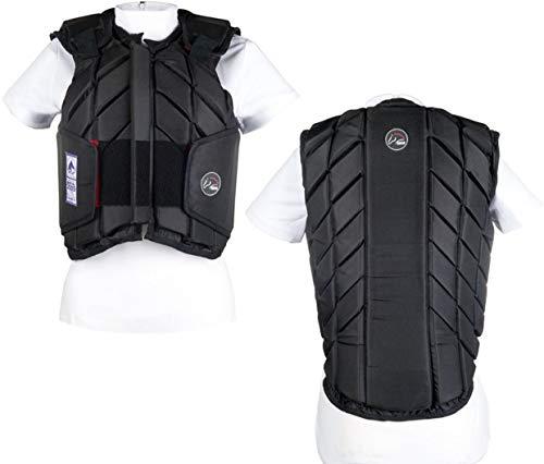HKM Erwachsene Sicherheitsweste -Easy fit9100 schwarzErwachsen S Hose, 9100 schwarz, S