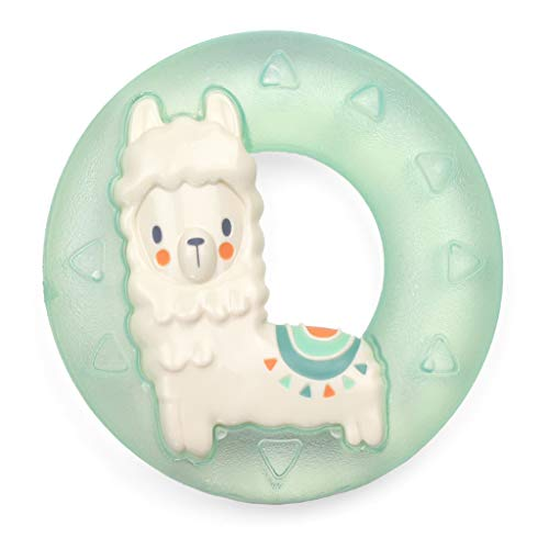 Price comparison product image Itzy Ritzy Water-Filled Teether; Cute N Cool Llama Water Teether is Textured on Both Sides to Massage Sore Gums; Can Be Chilled in Refrigerator,  Llama