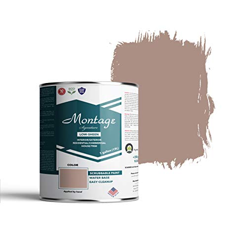 Montage Signature Interior/Exterior Eco-Friendly Paint, Almost Dusk, Low Sheen, 1 Gallon
