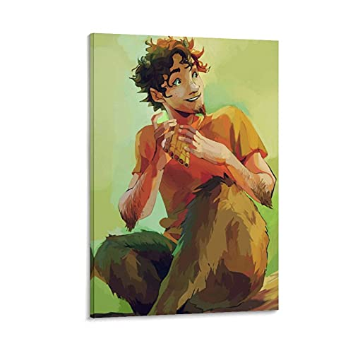 laoshu Grover Percy Jackson Book Canvas Art Poster and Wall Art Picture Print Modern Family bedroom Decor Posters 24x36inch(60x90cm)