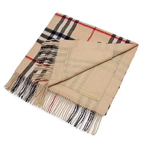 Tianpin sjaal, dames, lang, kasjmier-sjaal, warm, herfst, winter, sjaal, van pure wol