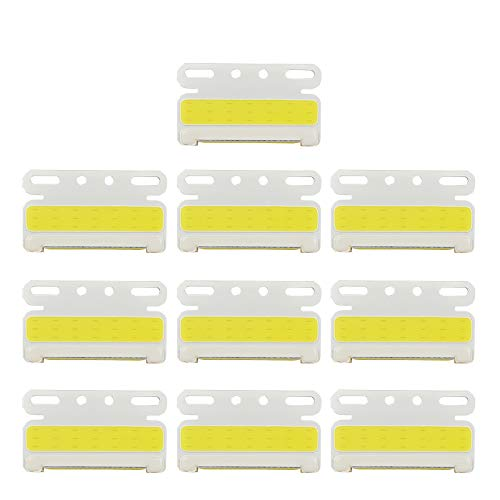 LncBoc 10 luces de marcador de remolque de 24 V, luces de marcador lateral LED, amarillas, indicadores laterales para coche, camión, furgoneta, remolque, camión o camión