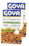 Goya Rice & Pigeon Peas 7oz Arroz con Gandules (2 Pack)