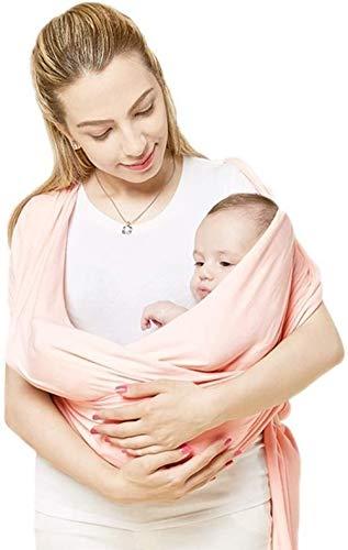 Porte-bébé HZYD -Baby légère Respirante, écharpe Originale, Ajustable de Haut Niveau avec Flip Cover (Couleur: Vert) (Couleur: Rose) (Couleur: Rose), Couleur: Vert ( Color : Pink )