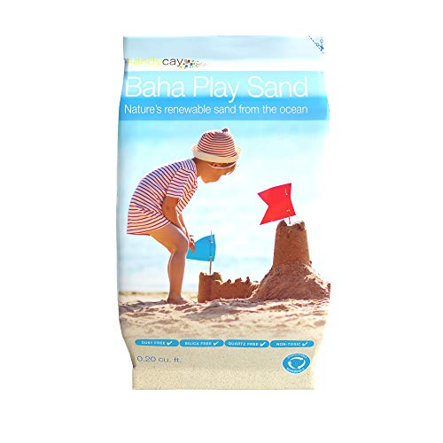 BAHA Natural Play Sand 20lb for Sandbox