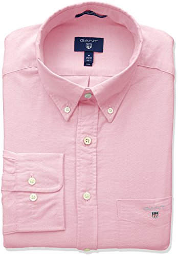 GANT The Oxford Shirt Reg BD Camisa, Rojo (Light Pink 662), XXX-Large para Hombre
