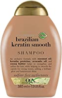 OGX Düzleştirici Brazilian Keratin Smooth Şampuan 385 ml, 1 Paket (1 x 385 ml)