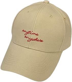 Hats Spring Outdoor Travel Cap Casual Couple Sunhat Baseball Cap Fashion (Color : Beige, Size : F)