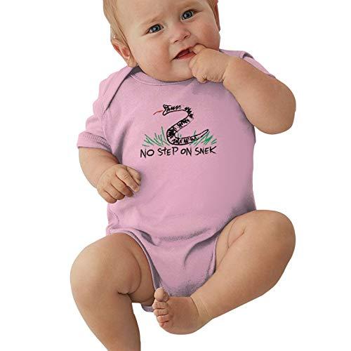 No Step On Snek Baby Boys Pijama Unisex Romper Baby Girls Body Infant Kawaii Jumpsuit Outfit 0-2t Niños,Rosa,0-3 Meses