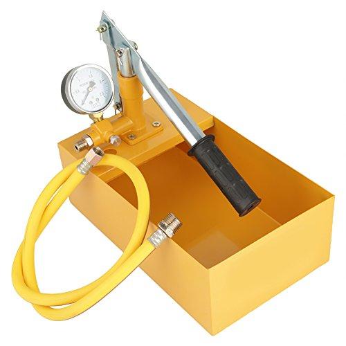 Hydrostatische Testpumpe 2.5Mpa 25KG 13ml / Zeit Manuelle hydraulische Wasserdruck-Testpumpe für den Pipeline-Drucktest