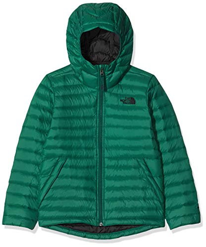 The North Face Aconcagua - Sudadera con Capucha para niños, Infantil, 3NIA, Night Green, Large