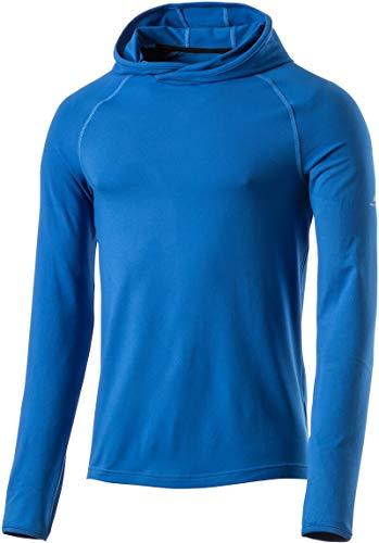 Pro Touch Cali UX - Camiseta de Manga Larga con Capucha para Hombre, Hombre, 280572, Blue Royal, Small