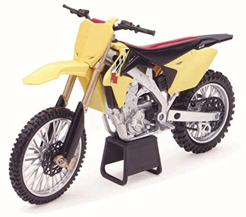 New Ray - 57643 - Véhicule Miniature - Modèle À L'échelle - Moto Cross Suzuki Rmz 450 - Echelle 1/12