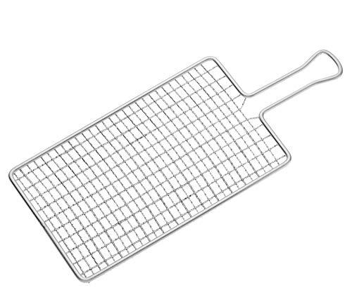 Küchenprofi - Rallador de patatas (32 x 13 cm, acero)