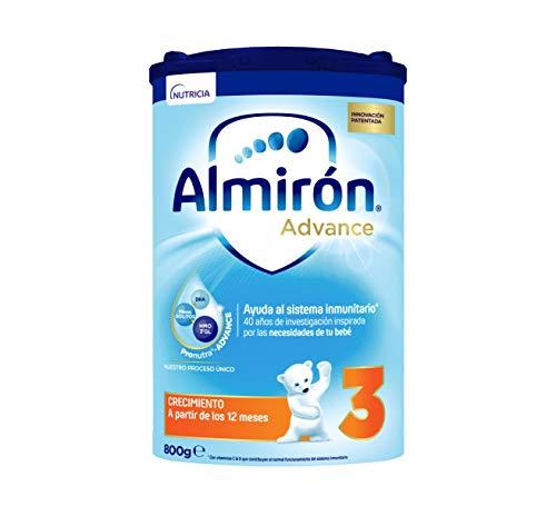 Almirón Advance 3, Leche de Crecimiento en Polvo para Bebé desde los 12 Meses, 800g