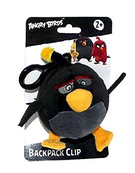Angry Birds Movie Clip On Bomb Plush