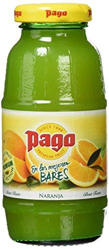 Pago - Zumo de naranja - 200 ml - [Pack de 8]
