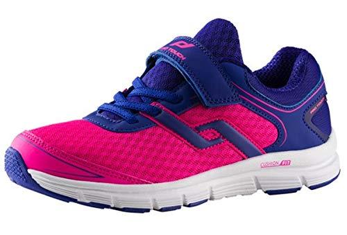 PRO TOUCH Laufschuh Oz Pro 7 V/l Jr, Chaussures de Running Garçon Mixte Enfant, Bleu (Blue Dark/Pink 000), 33 EU