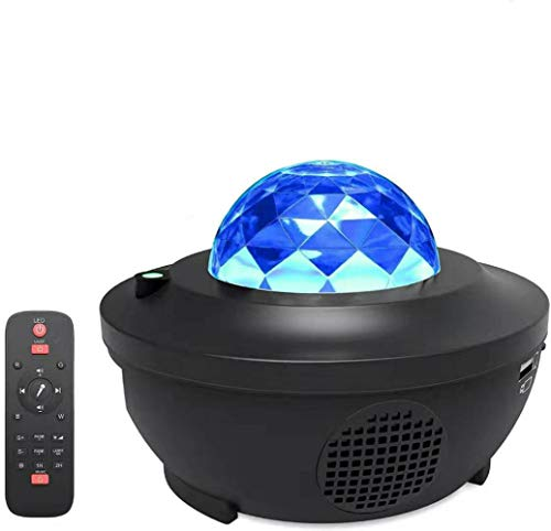 Led Star Projektor Nachtlicht Mit Bluetooth-DIY Bluetooth Lautsprecher...