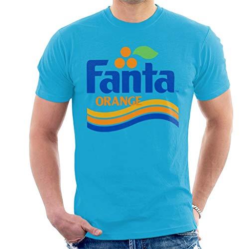 Fanta Orange 80s Wave Logo T-shirt for Men