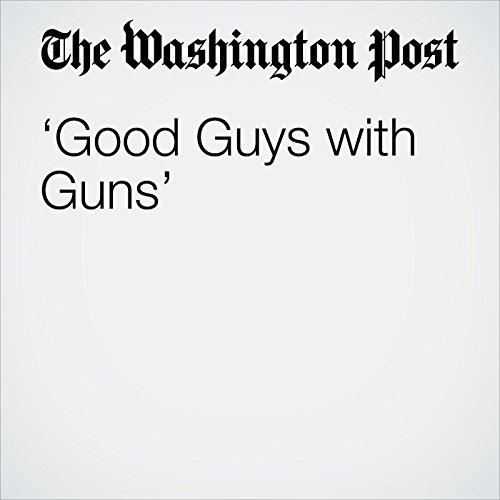 'Good Guys with Guns' copertina