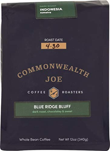 Commonwealth Joe, Coffee Blue Ridge Bluff, 12 Ounce