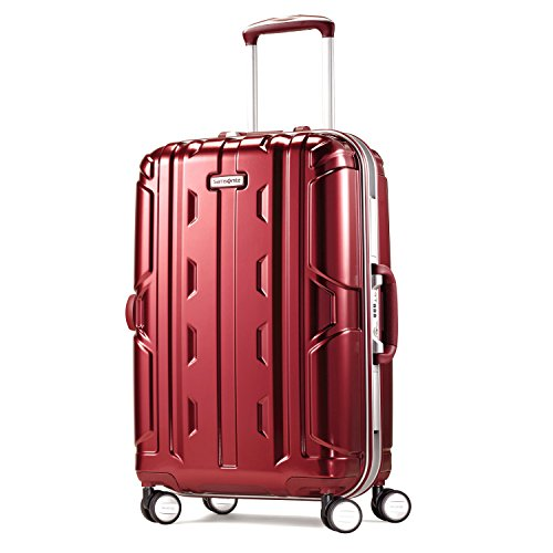 Samsonite Cruisair DLX Hardside Spinner 21, Burgundy