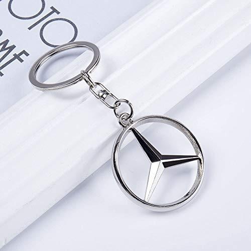 Llavero de coche Mercedes-Benz con logotipo de coche