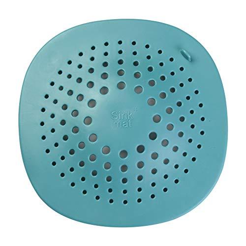 tianxiangjjeu Filter, Onderste Cover Filter Riool Keuken Badkamer Haar Anti-Blokkeren Wassen Vuilnisbak Blackish Green