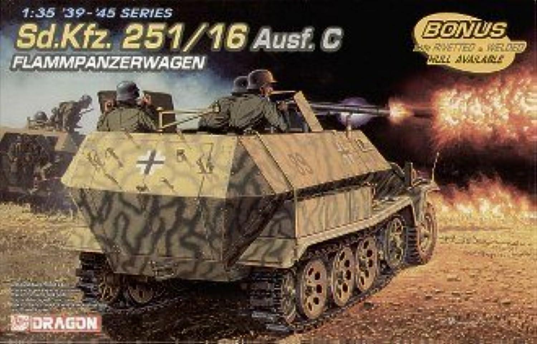 ganancia cero SdKfz 251 16 Ausf C Flammpanzerwagen by Dragon Models Models Models USA  edición limitada en caliente