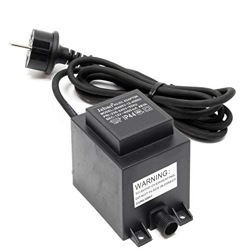 Transformateur 12 V AC 2000 ma ip44 clgarden Plug /& Light Bloc d/'alimentation 2000 mA 24 W 24va basse