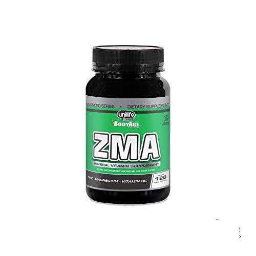 ZMA 120 Cápsulas Unilife Zinco, Magnésio e Vitamina B6