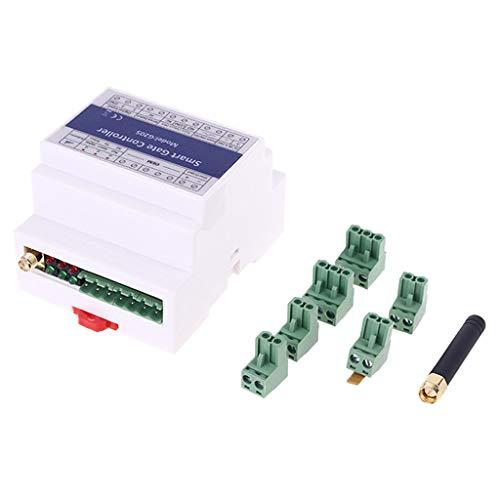 WAHSBAG Abrelatas de la Puerta, Interruptor de relé del módulo del Controlador del Acceso del Aviso del SMS de la Alarma del abridor de la Puerta Inteligente 2G gsm