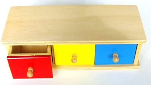 Montessori Box with Bins by FAC System