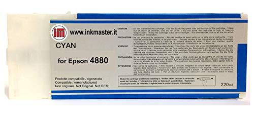 Ink Master - Cartucho remanufacturado EPSON T6062 Cyan para Epson Stylus Pro 4880