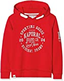 KAPORAL ANOY Sweat-Shirt, (Rouge Poppy), (Taille Fabricant:14 Ans) Garçon