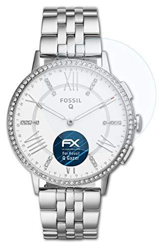 atFoliX Schutzfolie kompatibel mit Fossil Q Gazer Folie, ultraklare FX Bildschirmschutzfolie (3X)