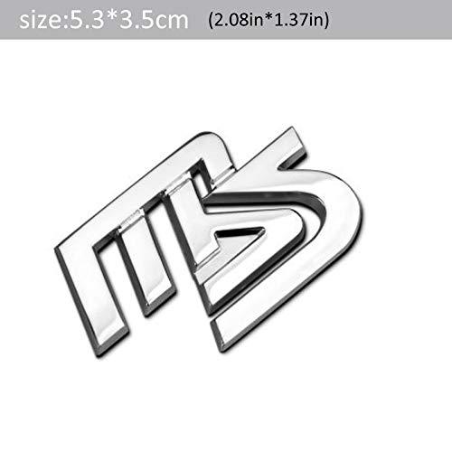 1 個 3D 金属 MAZDASPEED 車のサイドフェンダーリアトランクエンブレムバッジステッカーユニバーサル車のためのモトバイク装飾-Silver 2