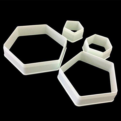 Winkey Kuchenform, Sugarcraft Fußball Kunststoff Fondant Cutter Kuchen Form Fondant Form Fondant Kuchen dekorieren Tools
