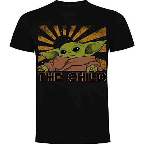 Foreverdai Camiseta Yoda - The Child - The Mandalorian - Baby Yoda (Hombre - M)